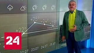 """""""Погода 24"""": принесет ли циклон европейские ливни в Россию?"""