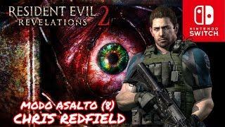 RESIDENT EVIL REVELATIONS 2 - MODO ASALTO NIVEL VIII (Normal) - CHRIS REDFIELD