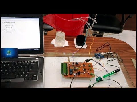 Download IoT Based Automatic Hydroponics Pod Using Arduino Controlled By Mobile Application