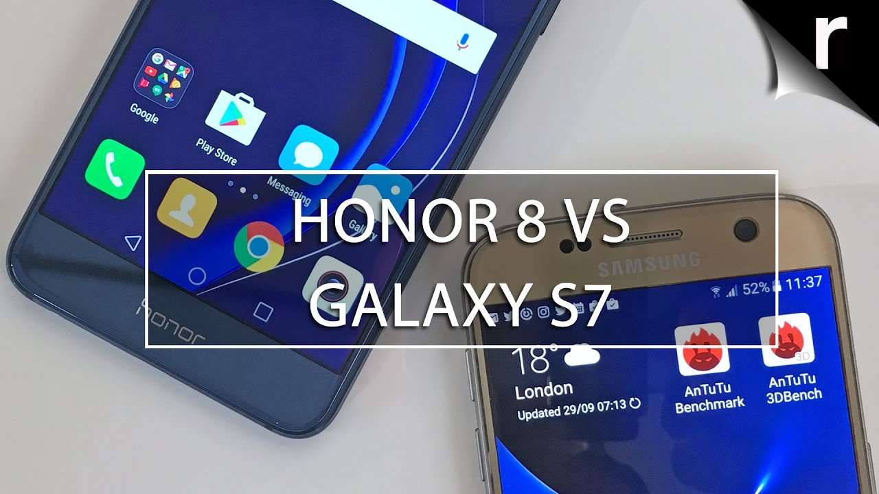 Honor 8 vs Galaxy S7: Which is best for me?