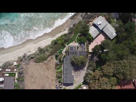 Seaside Malibu Home Real Estate Drone Video by PCAS 4K Inspire 1