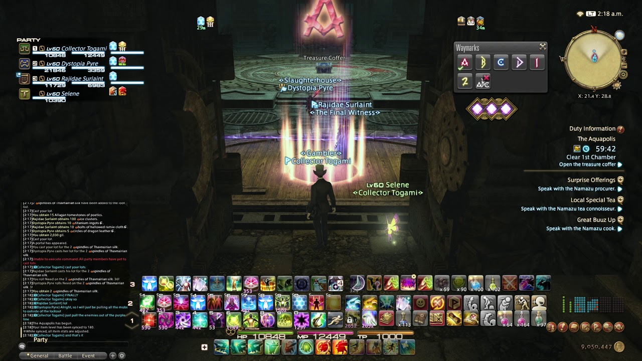 Getting Instantly Locked Out of Treasure Map Canals in FFXIV