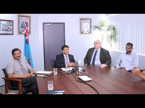 Fijian Attorney General announces the new CEO for Fiji Roads Authority.
