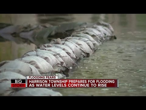 Harrison Township Prepares For Flooding As Water Levels Continue To Rise