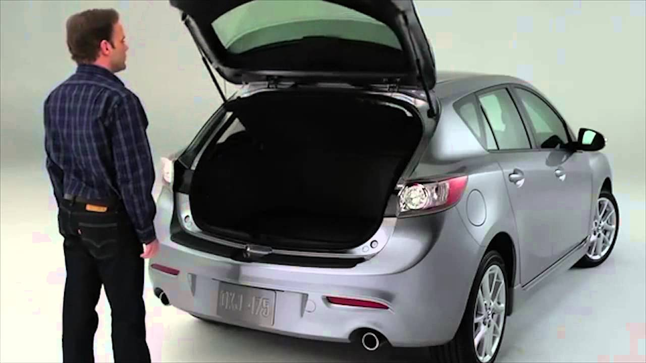 2013 Mazda3 Advanced Keyless Entry System And Rear Liftgate Tutorial    YouTube