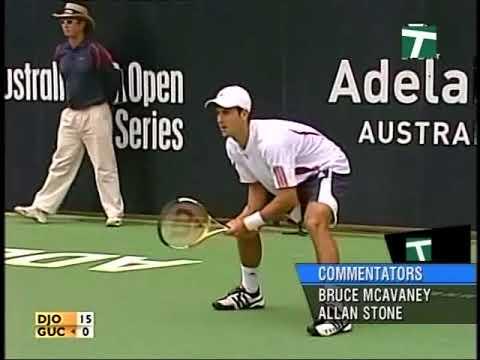 Adelaide 2007 Final - Djokovic Vs Guccione