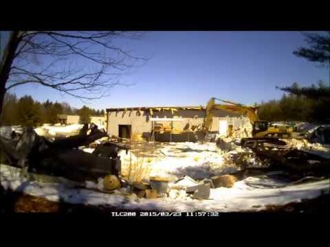 Hingham, MA Collapse Demolition