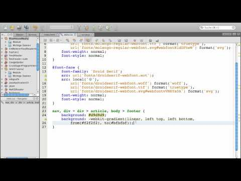 HTML5-Workshop: Durchstylen Mit CSS (allgemeine Klassen) 1/2