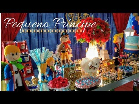 Decoração de festa do Pequeno Príncipe luxo - Bellas Festas