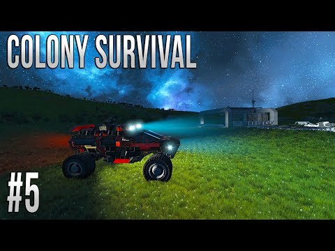 Space Engineers - Colony Survival - # Ep 5 - ROVER!
