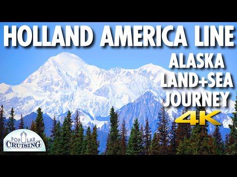Holland America Line Alaska Land+Sea Journey Review ~ Nieuw Amsterdam ~ Cruise Review [4K Ultra HD]