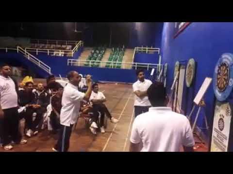 Darts National Championship Pakistan Winning Moment Hafiz Sarfarz 2018