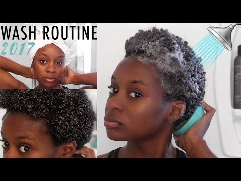 WASH DAY ROUTINE ON 4C NATURAL HAIR   Dry 4C Natural Hair