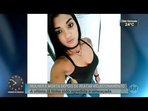 Mulher é morta após reatar relacionamento com ex-companheiro | SBT Brasil (08/03/18)