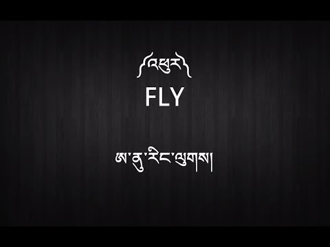 New Tibetan Song with Lyrics - ༼འཕུར༽ - Fly - Anu Rangluk