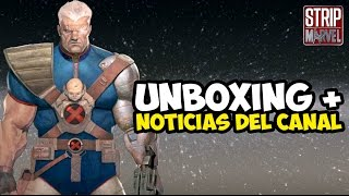 UNBOXING ENANO PANZUDO + NOTICIAS DEL CANAL | Strip Marvel