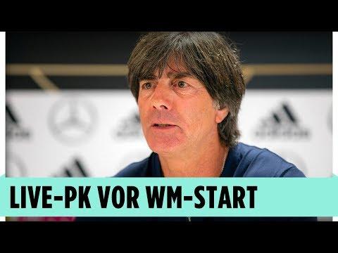 Bundestrainer Jogi Löw vor WM-Start | Pressekonferenz aus Russland