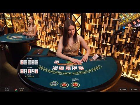 Caribbean Stud Poker Evolution Gaming Quick Look