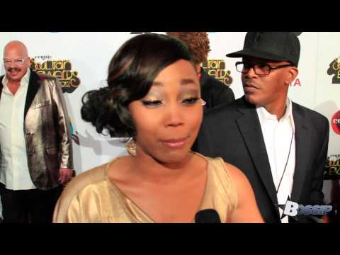 Shamari from Blaque Talks About Death of Natina Reed  Centric Soul Train Awards 2012