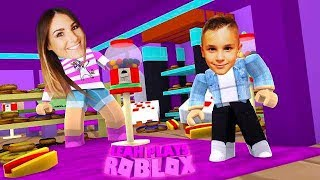 ROBLOX Little Leah Plays - HIDING FROM MY REAL LIFE BABY BROTHER - EXTREME HID N SEEK!!