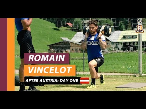 Romain Vincelot after Day One of Austria pre-season camp