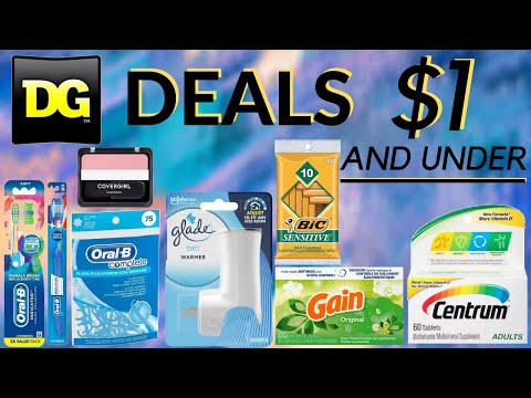Best Deals At Dollar General This Week | Deals $1 And Under | Freebies And Cheapies