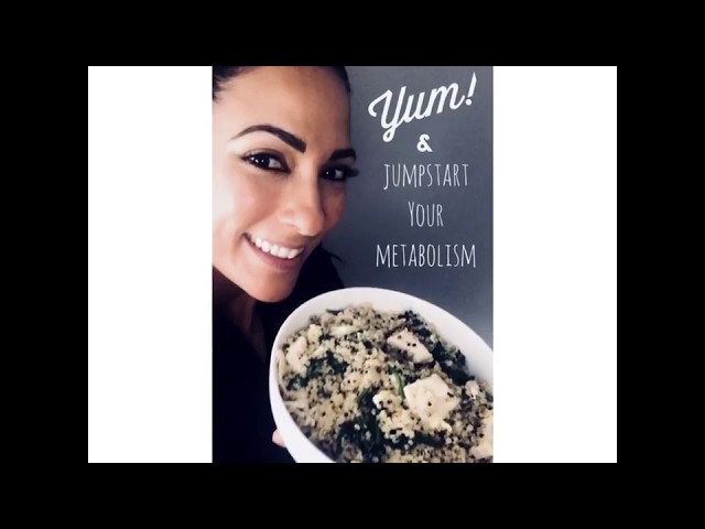 Healthy Recipe that BOOSTS Metabolism [FAST, EASY & DELICIOUS!!!]