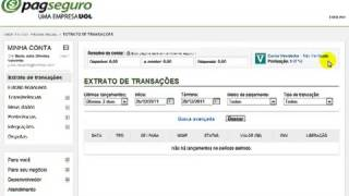 Como Fazer Para Confirmar e Verificar Uma Conta no PagSeguro Banco Vitual