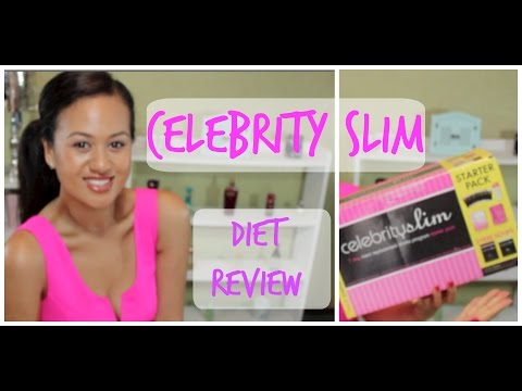 CELEBRITY SLIM DIET REVIEW & GIVEAWAY!