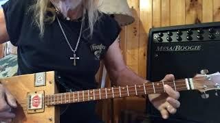pipeline ventures lesson for 3 string cigar box guitars