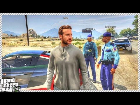 GTA 5 ROLE-PLAY | NEW JOB BECOMING SECURITY GUARD! (GTA 5 RP Mod Gameplay)