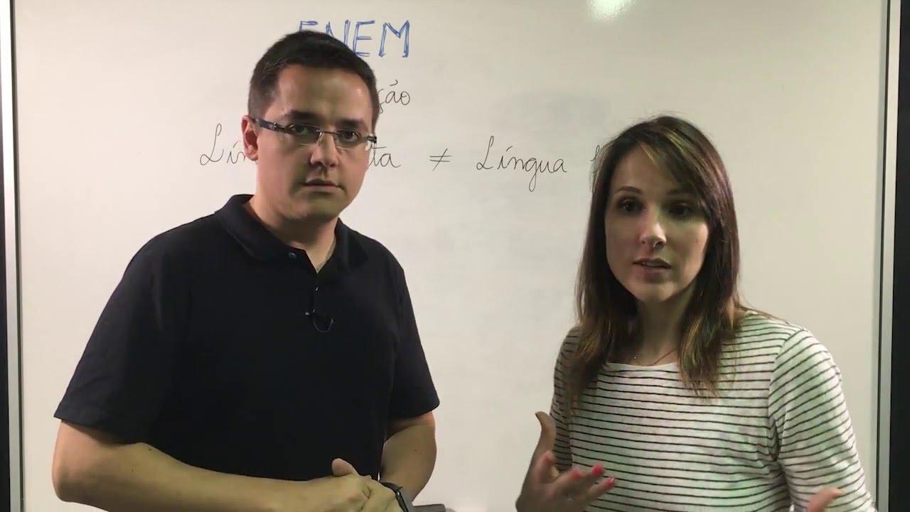 Língua Escrita X Língua Falada Redação De Campeão Youtube