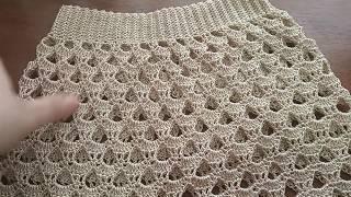 МК.  Потрясающе красивая юбка .Очень легко,просто,красиво
