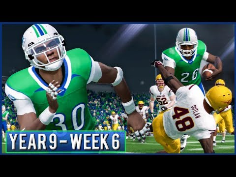 NCAA Football 14 Dynasty Year 9 - Week 6 vs Arizona State | Ep.155