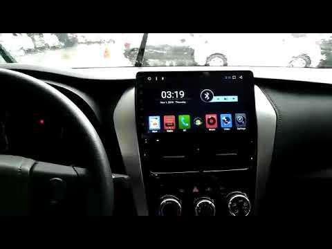 Central Multimídia Hetzer Android Toyota Yaris  Em Brasília  DF