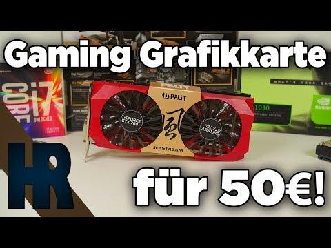 50€ Gaming Grafikkarte Test | Gebrauchte GTX 760 2017 | Playerunknowns Battlegrounds GTA Battlefield
