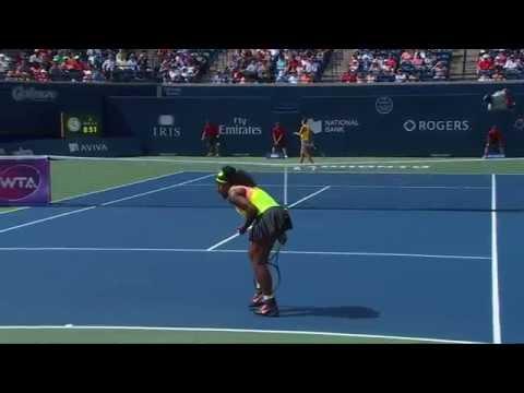 Rogers Cup - Toronto - Serena Williams v. Flavia Pennetta