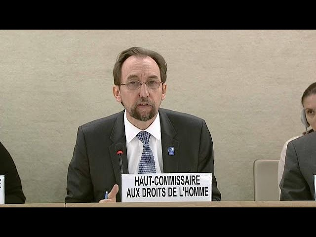 UN human rights chief slams Syria over 'unjustified' Ghouta attacks
