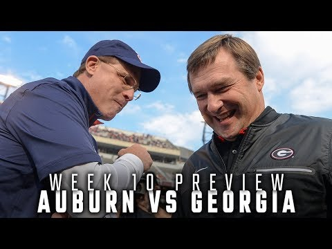 How Auburn matches up with top-ranked Georgia
