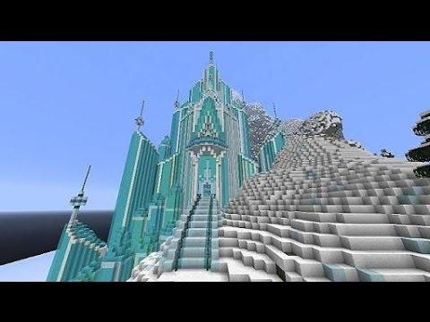 Minecraft Destrui O Castelo Da Frozen E Olha No Que Deu