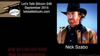 Nick Szabo's Remarks on the Bitcoin XT Fork