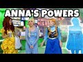 ANNA'S FREEZING POWERS AFTER ANNA AND ELSA SWITCHED. (Totally TV Character Video)