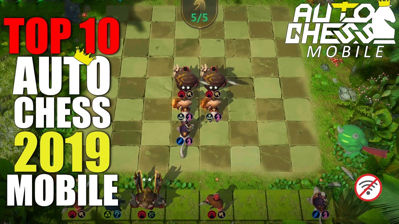 TOP 10 BEST AUTO CHESS MOBILE!! 2019 FREE [ANDROID/IOS] Gameplay