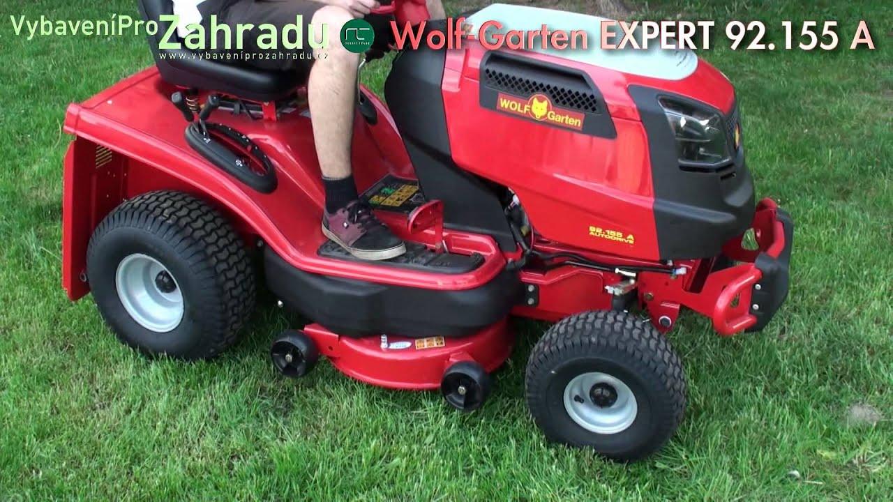 wolf garten expert a zahradn traktor youtube. Black Bedroom Furniture Sets. Home Design Ideas