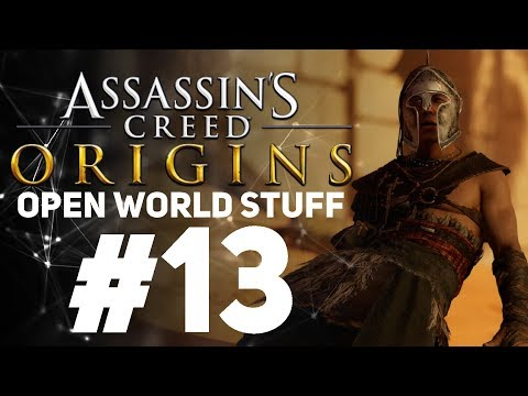 Assassin's Creed Origins [LIVE/PC] - New Game + Open World Stuff #13