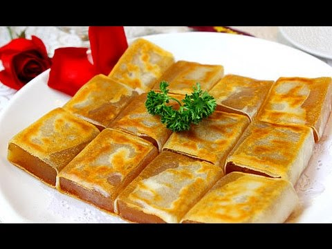 傳統香煎年糕nian Gao With Egg Recipe Chinese New Year Sticky Rice Cake Pan Fried Glutinous Rice Cake Youtube