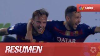 Resumen de Real Betis (0-2) FC Barcelona