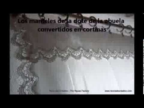 La dote de la abuela: de manteles a cortinas   grandmother's dowry ...