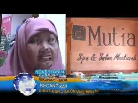 Grand Opening d'Mutia Spa & Salon Muslimah Cabang Batam