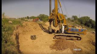 Construction of friction pile is in deep foundation. where commonly...